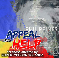 Help by donating cash and/or relief goods or by volunteering your services and other resources.